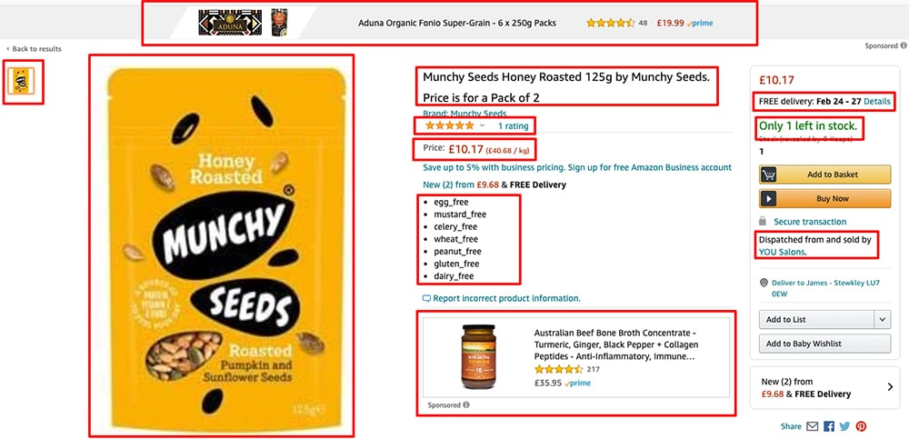 munchy seeds client wakecommerce